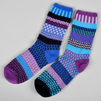 solmate socks - raspberry recycled cotton socks