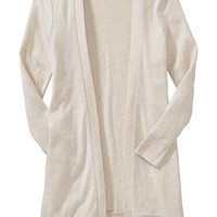Old Navy Girls Long Open Front Cardigan