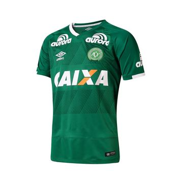 CAMISA MASCULINA CHAPECOENSE 2016/17 Home Men Soccer Jersey Personalized Name and Numb