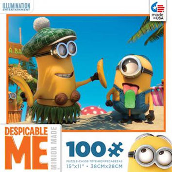 Despicable Me Minions Popsicle 100 pcs Jigsaw Puzzle Ceaco New with Box