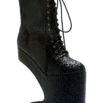 ellie shoes bettiepage chablis women s 5 5 inch heel curved platform ankle boot 6 tur  number 1