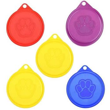 Universal Silicone Can Lids for Pet Food Cans