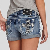 Miss Me Cross-Pocket Shorts 					 					 				 			 | Dillard's Mobile