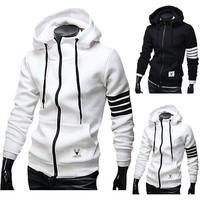 Winter Hats Slim Hoodies Jacket [10669396291]