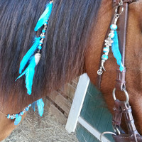 Denali Equine Mane and Saddle / Bridle Ornament Set for Horses Tack Extensions