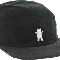 Grizzly Members Only 5panel Camper Hat Adjustible Black