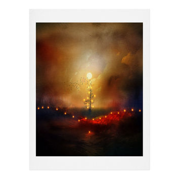 Viviana Gonzalez A Beautiful Christmas Art Print