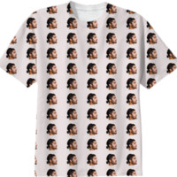 Zayn Ponytail T-Shirt created by Harrattan Parhar | Print All Over Me