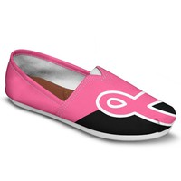 Fight Breast Cancer Casual Shoes