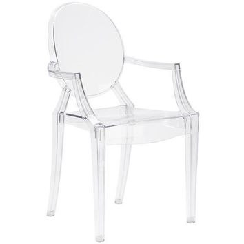Burton Arm Chair | Clear