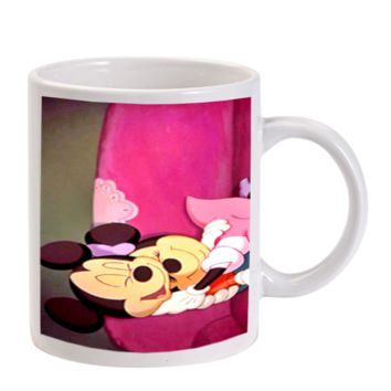 Gift Mugs | Mickey Mouse And Minnie Mouse Hug Ceramic Coffee Mugs