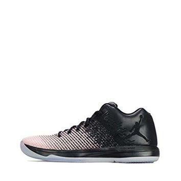 Nike Men's Air Jordan XXXI Low Basketball Shoe, Black/Sheen/Dark Grey, nike air jorda