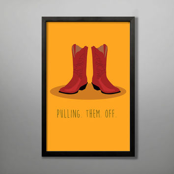 How I Met Your Mother Poster Ted's Boots