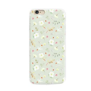 IPhone6 Plus Creative Hand Painted Cell Phone Case Soft Protective Cover