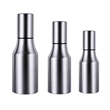Stainless Steel Olive Oil Pot Oil Bottle with Air Hole Honey Pourer Dust-proof Soy Sauce Vinegar Storage Container Kitchen Tools