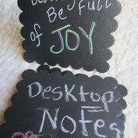 DIY Chalkboard Mini Message Boards-Birthday Party Favors- Reusable Greeting Message Boards-Personalized Gifts-Wedding
