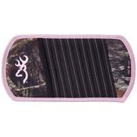 Browning Buckmark Mossy Oak and Pink CD Organizer