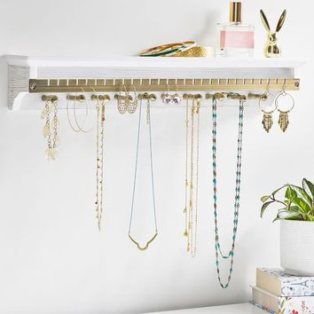 Heirloom Jewelry Shelf