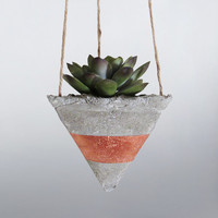 Air Planter, Hanging Planter, Concrete Planter, Geometric Planter, Succulent Planter, Mini Planter, Modern Planter, Indoor Planter, Bronze