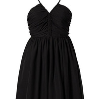 Ylva Dress - Jeane Blush - Black - Party Dresses - Clothing - Women - Nelly.com