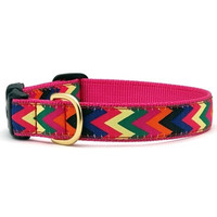Zig Zag Wag Dog Collar and Lead