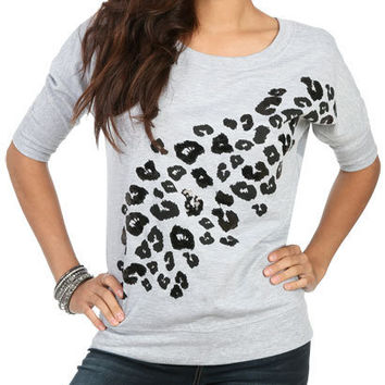 Cheetah Print Sequin Pullover | Shop Tops at Wet Seal