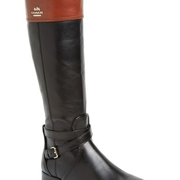 COACH 'Elm' Riding Boot (Women) | Nordstrom
