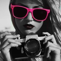 Camera,Fashion,Girl,Me coolness,Pink,Sun glasses - inspiring picture on PicShip.com