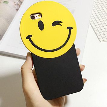 ESBONG Korean Phone Case Iphone Strong Character Silicone Phone Case [8864266567]