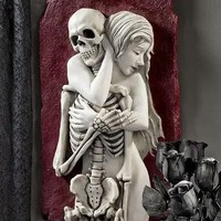 Flesh and Bone Skeleton Wall Sculpture