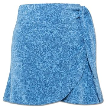 NEW! Mandala Organic Wrap Mini Skirt