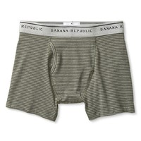 Banana Republic Mens Striped Stretch Cotton Boxer Brief
