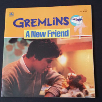 Vintage Gremlins A New Friend Golden Book 1984 Great Comic Book Style Graphics