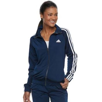LMF7GX Women's adidas Striped Track Jacket | null