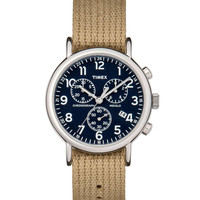 Timex Archive Weekender Waterbury Chronograph 42MM Watch