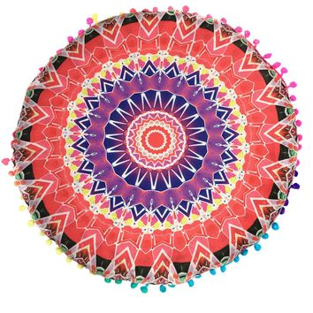 7 patterns new Indian Mandala Floor Pillows  1