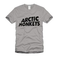 The Artic Monkeys - Grey t shirt (all sizes)