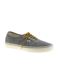Vans® for J.Crew washed canvas authentic sneakers - sneakers - Men's shoes - J.Crew