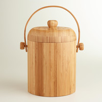 Bamboo Compost Bucket - World Market