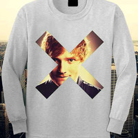 Ed Sheeran sweatshirt.