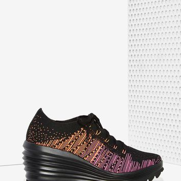 Jeffrey Campbell Inferma Knit Sneaker - Sunset
