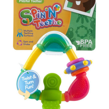 Spin N' Teethe Triangle Teether