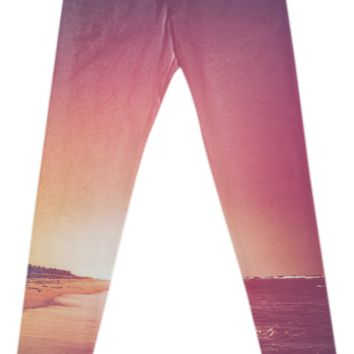 Summer - Leggings created by HappyMelvin | Print All Over Me