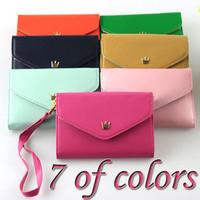 Multi Purpose Envelope Wallet Case coin Purse for cell Phone iPhone 4 4S