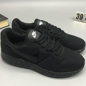 NIKE MD RUNNER 2 LW Tide Brand Fashion Casual Comfortable Shock Absorbing Sneakers F-CSXY full black