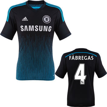 Fabregas Jersey Chelsea 2014 2015 + EPL badges