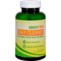 About Time Daily Cleanse With Green Coffee Bean - 60 Vegetarian Capsules