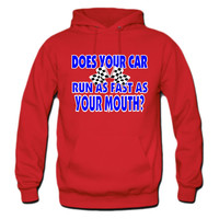 Funny Racing Saying hoodie