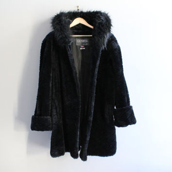 8178f27839f Shop Faux Fur Swing Coat on Wanelo