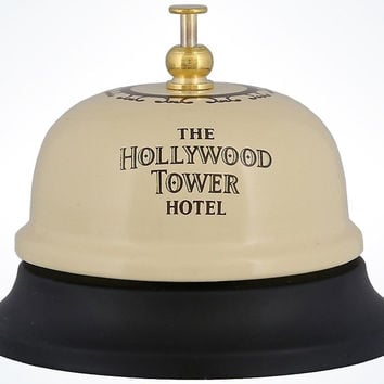 Disney Parks Hollywood Tower Hotel Metal Bell New